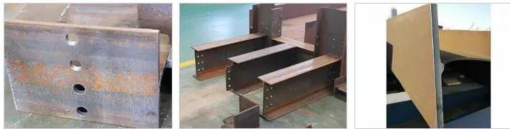 Steel beam cutting machine photo 2