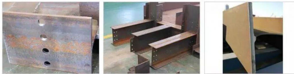 Steel beam cutting machine photo 2
